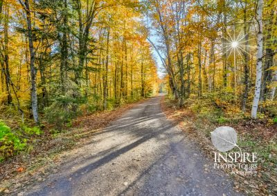 Back Roads of Lutsen in the Fall